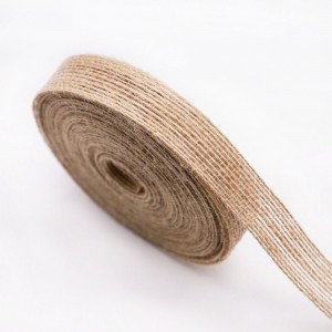 """Rustic Burlap Ribbon for Flower Wrapping Florist Size #3 (5/8"""" x 27 Yard) [30 Rolls/Lot]"""