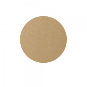 Brown Kraft Circle Labels for Pastry Packaging (1.25 inches x 1.25 inches) [1200 Labels/Lot]