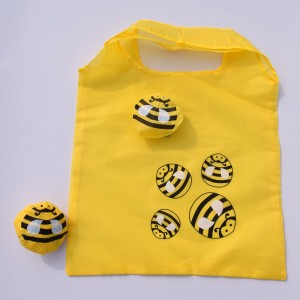 Yellow Eco-Friendly Grocery Bags 38 cm x 58 cm (14.75 Inches x 22.75 Inches) (100 Bags/Lot)