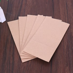 Paper Brown Lunch Bags 12 cm x 22 cm + 7 cm (4.5 inches x 8.5 inches + 2.75 inches) (2000 Bags/Lot)