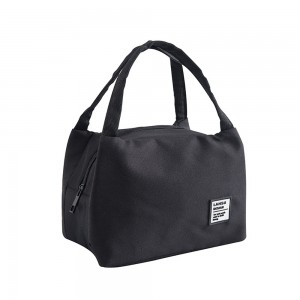 """Black Insulated Cooler Bags in Size  21 cm x 14 cm x 13 cm (8.25"""" x 5.5"""" x 5"""") (80 Cooler Bags/Lot)"""