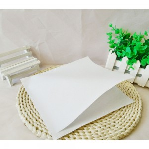 White Kraft Basket Liner Double-Open Wrapper Size 15 cm x 15 cm (5.75 inches x 5.75 inches) (1140 Bags/Lot)