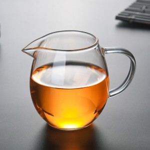 Insulated Transparent Glass Tea Pitcher in 12.25oz/350ml - 50/Lot (6.5 x 9 cm/2.5 x 3.5 inches)