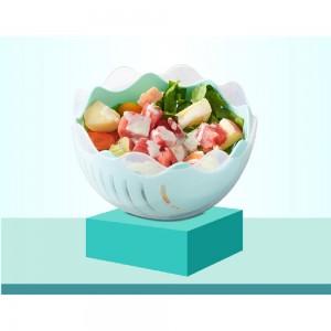 Set of 1 Piece Blue Plastic Kitchen Mixing Bowls 60 Bowls/Lot