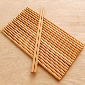 Set of 20 Pieces Brown Reusable Bamboo Durable Chopsticks (80 Chopsticks/Lot)