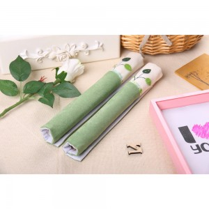2 Set of Green Soft Cotton Anti-Static Refrigerator Door Handle Covers 50 Covers/Lot