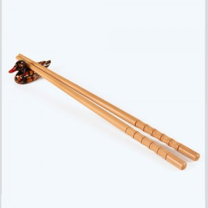 Set of 2 Brown Reusable Bamboo Chopsticks 600 Chopsticks/Lot