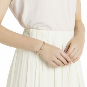 "Rose Gold Knot Twist Chain & Link Bracelet 2"" - 30/Lot"