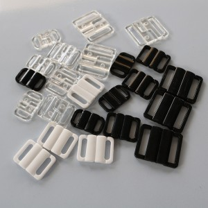 Mixed Color Closure Hook and Clasp Fastener Replacement Clip (1350 Bra Clips/Lot)
