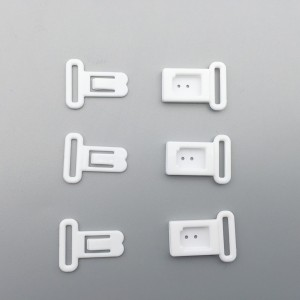 White Closure Hook and Clasp Buckle Replacement Clip (2190 Bra Clips/Lot)