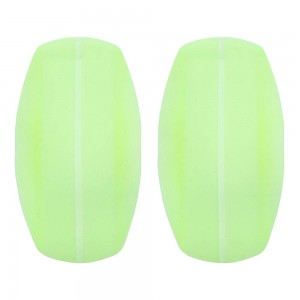 Women's Soft Green Silica Gel Shoulder Protector Pads (200 Bra Strap Cushions/Lot)
