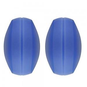 Women's Soft Blue Silica Gel Shoulder Protector Pads (200 Bra Strap Cushions/Lot)