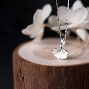 "Silver Seashell Short Pendant Necklace 17"" - 50/Lot"