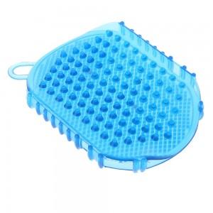 Plastic Blue Handheld Scalp Massager (100 Pieces/Lot)