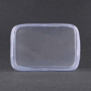 Transparent PVC Zipper Apparel Bags - 100 Pieces/Lot 6.5 x 2.25 x 4.5 Inches