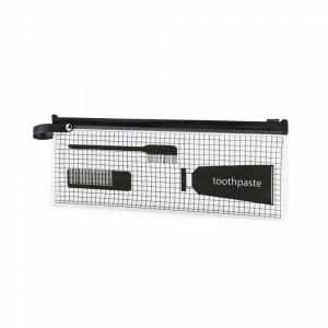 Black EVA Slider Zip Closure Bag Protectors for Garments - 150 Pieces/Lot 10 x 1 x 3.5 Inches