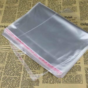 Transparent OPP Self-Adhesive Apparel Accessories Packaging Bags 2.25 x 5.5 Inches- 220 Packs/Lot (100 Pieces/Pack)