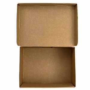 Brown Kraft Shoe Storage Boxes 12.5 x 8.5 x 4.5 Inches - 100 Boxes/Lot