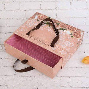 Pink Corrugated Cardboard Travel-Friendly Gift Boxes 10.75 x 7.75 x 3.25 inches - 20 Boxes/Lot