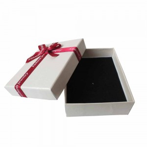 White Cardboard Bridal Shower Apparel Gift Boxes 3.5 x 2.75 x 1 inch - 200 Boxes/Lot