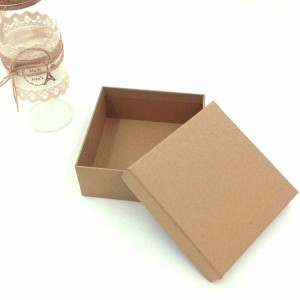 Brown Kraft Special Gift Boxes 5 x 5 x 2  inches - 50 Boxes/Lot
