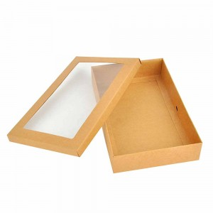 Brown Kraft Apparel Display Boxes 8.5 x 5.5 x 1.5 inches - 180 Boxes/Lot