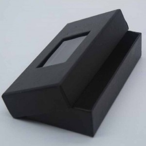 Black Cardboard Clothing Accessories Boxes for Display on Shelves 5.5 x 2.75 x 1 inch - 100 Boxes/Lot