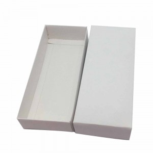 White Cardboard Bridal Shower Apparel Accessories Gift Boxes 7.75 x 3.25 x1.5 inches- 190 Boxes/Lot