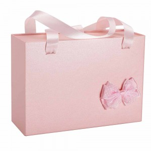 Pink Cardboard Apparel Birthday Gift Boxes 7 x 5 x 2.5 inches- 35 Boxes/Lot