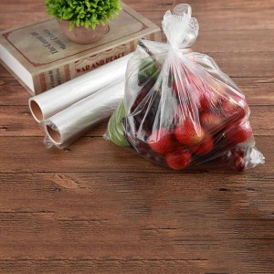 Clear Plastic Food Storage Bags, 200 Bags Per Roll 13.75 Inches x 17.5 Inches (60 Roll/Lot)