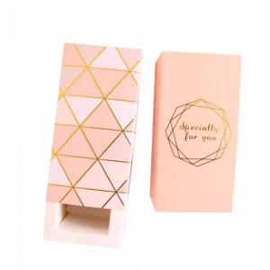 "Set of 280pcs Pink Beauty White Card Gilding Lipstick Boxes 3.25"" x 1.25"" x 1.25"" [280pcs/lot]"