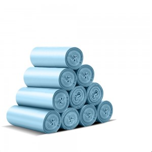 Blue Roll Garbage Bags 45 cm x 50 cm (17.5 Inches x 19.5 Inches) (3600 Bags/Lot)