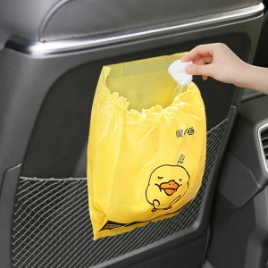 Cartoon Trash Bags Self-Adhesive for Car, Kitchen 26 cm x 20 cm (10 Inches x 7.75 Inches) (1500 Bags/Lot)