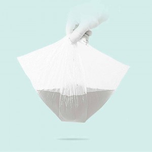 Translucent Disposable Diaper Waste Bags 15 cm x 37 cm (5.75 Inches x 14.5 Inches) (6000 Bags/Lot)