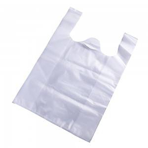 Translucent T-Shirt Plastic Waste Trash Bags 26 cm x 40 cm (10 Inches x 15.75 Inches) (2700 Bags/Lot)