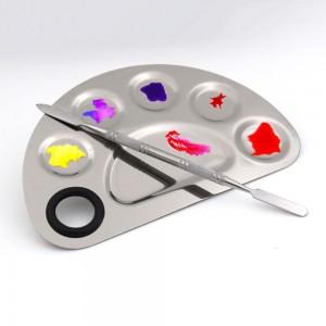 80 Pieces Stainless steel Empty DIY Beauty Guru Makeup Palettes [6 slots] [80pcs/lot]
