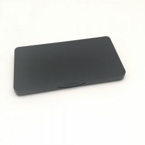 100 Pieces Plastic Black Professional Makeup Eyeshadow Palette Kit [3 slots] [100pieces/lot]