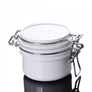 80 pieces Jar Empty PET+PE White Cosmetic Lip Balm and Cream Containers 4.23oz [80 pieces/lot]