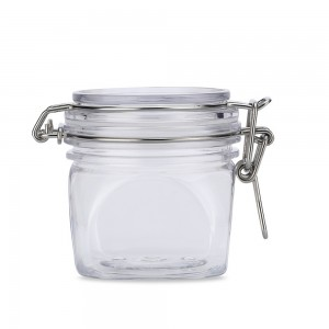 80 Empty PET&PE Transparent Cosmetic Lip Balm and Cream Containers [7.77oz] [80 pieces/lot]