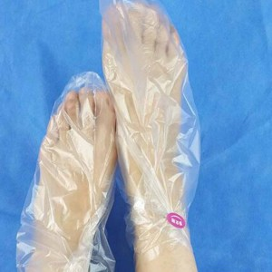 Disposable Clear Plastic Waterproof Salon Feet Protector Covers (3000 pairs of Feet Cover/Lot)