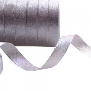 Sheer Silver Organza Ribbon for Gift Wrapping and Decorations (0.75 inches x 1 Yard) [1200 Rolls/Lot]