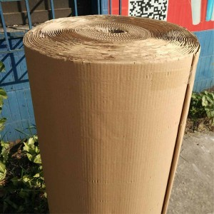 Single Side Corrugated Kraft Wrapping Paper for Added Protection (47.25 inches x 55 Yards) [1 Roll/Lot]