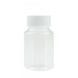 """Transparent Polyethylene Terephthalate (PET) Storing Pill Tablet Container Bottle Holder (1.5""""x2.5"""") - 400 Bottles/Lot"""