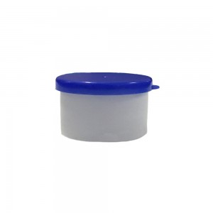"Blue Polypropylene (PP) Sterile Specimen Cup Containers (0.75""x1.25"") - 1500 Bottles/Lot"
