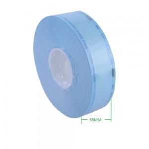 """Blue Dialysis Paper + Composite Film Medical Sterilization Pouches (2x787.25"""") - 15 Rolls/Lot"""