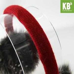 KBB Orange, Black, Purple & Red Sideway V Pattern Design Earmuffs w/ Audiojack (3 Earmuffs/Lot)