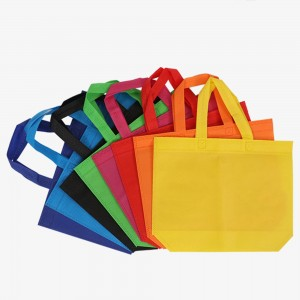 Eco-Friendly Random Color Reusable Grocery Shopping Totes (14 Bags/Lot)