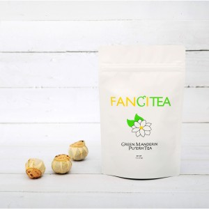 Fancitea High Quality Chinese Pu'erh Tea With Ripe Green Mandarin 4oz