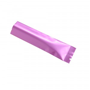 Glossy Purple Aluminum Mylar Open Filling Bag 3.5 cm x 12 cm [1.4 inches x 4.7 inches] (500 Bags/Lot)